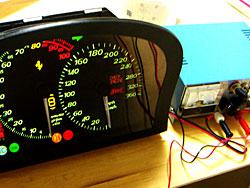 Ferrari F50 メーター修理例